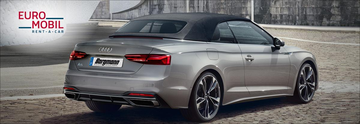 Mietwagen-Krefeld Audi A5 Cabrio